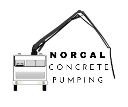this image shows norcal concrete pumping